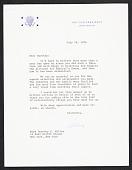 view Nelson A. Rockefeller letter to Dorothy Miller digital asset number 1