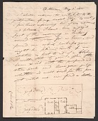 view Robert Mills family letters, 1813-1847 digital asset number 1