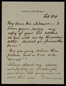 view Francis Davis Millet letter to Charles Francis Adams, Jr. digital asset number 1
