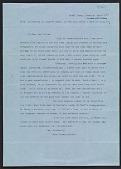 view Helen Crowninshield letter to Lily Millet digital asset number 1