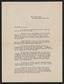 view Algernon S. Frissell letter to Lily Millet digital asset number 1