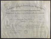 view Francis Davis Millett's Masters diploma from Harvard University digital asset number 1