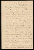 view George Whitney, Philadelphia, Pa. letter to Henry Hill Collins digital asset number 1