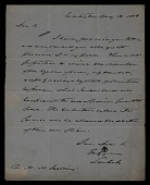 view Sam Cole letter to unidentified recipient digital asset number 1