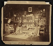 view W.M. Chase's studio, West 10th St. N.Y. digital asset number 1