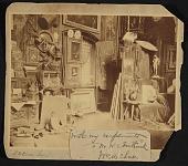 view William Merritt Chase's 10th Street studio in New York digital asset number 1