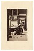 view John Frederick Kensett in his studio digital asset number 1