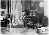 view John Singer Sargent in his studio digital asset number 1