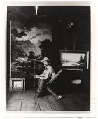 view Ben W. Sears in his studio digital asset number 1