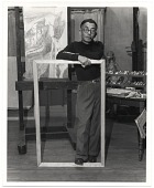 view Yasuo Kuniyoshi in his studio digital asset number 1