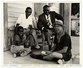 view Bruce Mitchell with Fats Navarro's family digital asset number 1