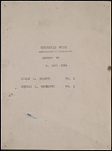 view F. Luis Mora papers digital asset: Rothschild Prize Certificate