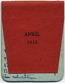 view F. Luis Mora pocket diary digital asset: cover