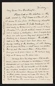 view Correspondence, National Academy of Design and Edward L. Morse digital asset: Correspondence, National Academy of Design and Edward L. Morse