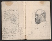 view Notebook of sketches and writings digital asset: pages 4