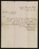 view Richard W. Johnson letter to Henry Mosler digital asset number 1