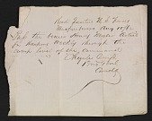 view Charles Cruft travel pass for Henry Mosler digital asset number 1