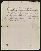 view Travel permit for Henry Mosler digital asset number 1