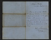 view John Bonner letter of introduction for Henry Mosler digital asset number 1