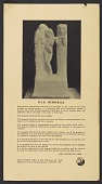 view John Frederick Mowbray-Clarke poster with instructions for erection of his war memorial digital asset number 1