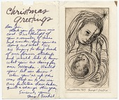 view George Zoretich Christmas card to James Mullen digital asset: inside