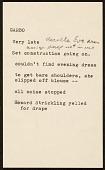 view Notes on Greta Garbo digital asset number 1