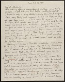 view Frida Kahlo, Paris, France letter to Nickolas Muray, New York, N.Y. digital asset: page 1