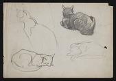 view Sketches digital asset: Sketches: circa 1925