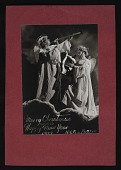 view Nickolas Muray and Ruzzie Green Christmas card digital asset number 1