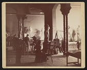 view Photograph of antique class at National Academy of Design 23rd street location digital asset number 1