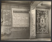 view Installation view of the exhibition <em>Paintings, embroideries, and Tapestries from the collection of Mr. Emerson McMillan</em> at the National Arts Club digital asset number 1