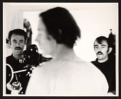 view Robert Nelson and William Wiley filming a scene for <em>The Great Blondino</em> digital asset number 1