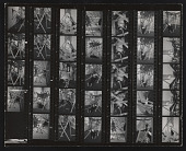 view Contact sheet with images of Senga Nengudi performance digital asset number 1