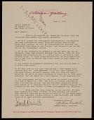 view Arthur Nadel, Sarasota, Fla. letter to Lowell Nesbitt, New York, N.Y. digital asset number 1