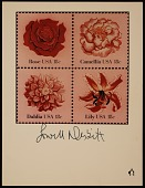 view United States Postal Service Stamp Poster. Flowers digital asset number 1