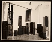 view Martha Jackson Gallery installation of Louise Nevelson's <em>Sky Columns Presence</em> digital asset number 1