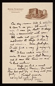 view Unidentified sender, Pittsburgh, Pa. letter to Louise Nevelson digital asset number 1