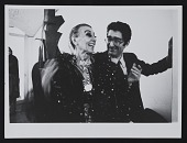 view Louise Nevelson with Giorgio Marconi at Studio Marconi in Milan, Italy digital asset number 1