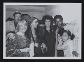 view Louise Nevelson with unidentified individuals at Hokin Gallery in Palm Beach, Florida digital asset number 1