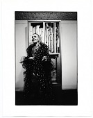 view Louise Nevelson at an exhibition opening of her work digital asset number 1