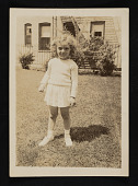 view Photograph of Linda Nochlin as a child digital asset number 1