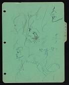 view Doodles on Latin notebook divider digital asset number 1