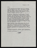 view Esther Wiley Jones letter to Linda Nochlin digital asset number 1