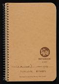 view Notebook, 1984 digital asset number 1