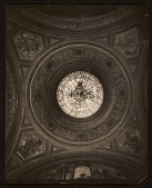 view Stained glass dome designed by Violet Oakley in Charlton Yarnall's home in Philadelphia digital asset number 1