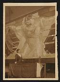 view Photograph of Violet Oakley with her mural <em>Unity</em> digital asset number 1