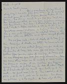 view C. Gonzales, Montevideo, Uraguay, letter to Naul Ojeda, Arlington, Virginia digital asset number 1