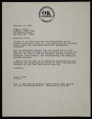 view Ivan C. Karp letter to Frank R. Miele digital asset: page 1