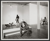 view Installation view of Duane Hanson exhibit at the OK Harris Gallery digital asset number 1