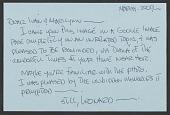 view Unidentified sender letter to unidentified recipient digital asset number 1